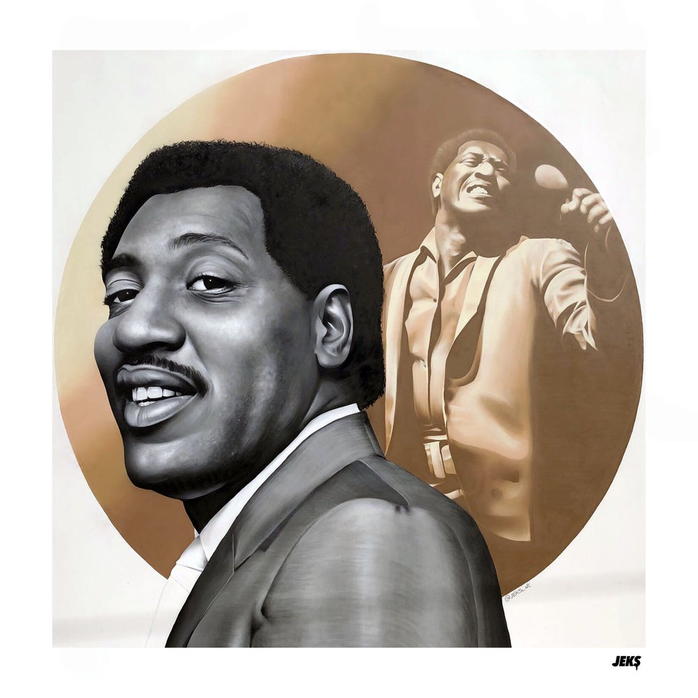 Image of Limited Edition - Otis Redding Tribute Mural