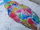 Image 3 of Rainbow Owl Stone Mats