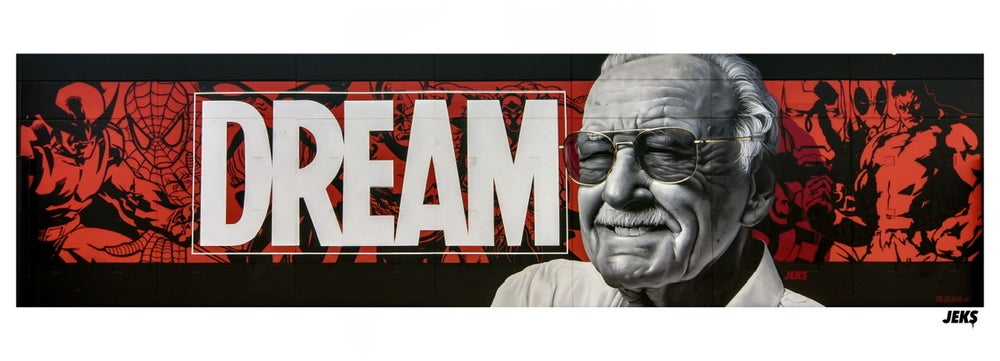 "Image of Limited Edition - ""Dream Big"" Stan Lee Tribute Mural"