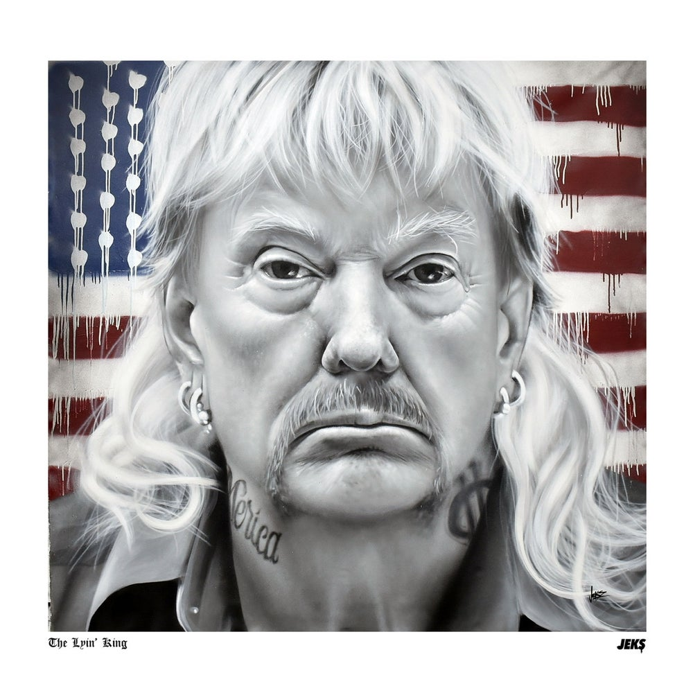 """Image of Limited Edition - """"The Lyin' King"""" Print"""