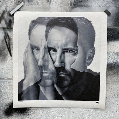 "Image of Limited Edition - ""copy of A"" Trent Reznor Print"