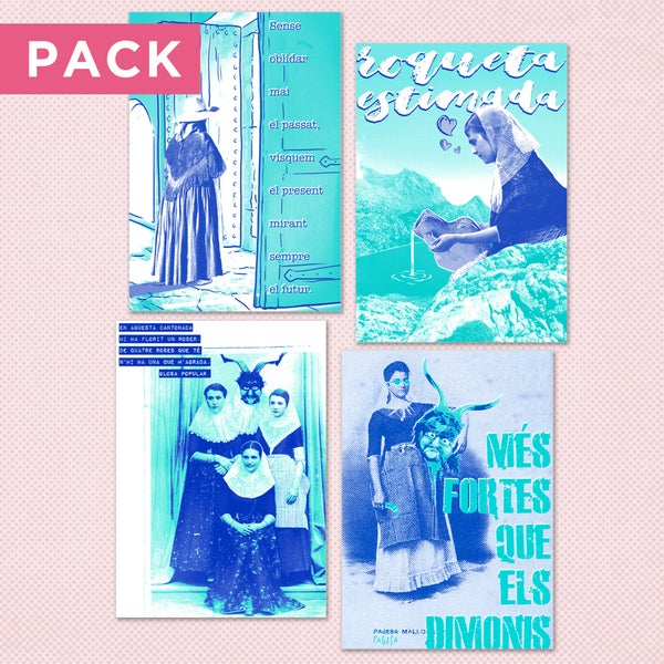 Image of Malafolla Classics - Pageses Postcard Set
