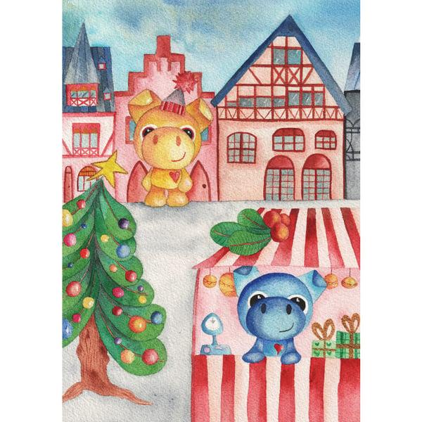 Image of Ilustración infantil de animales en Frankfurt Original