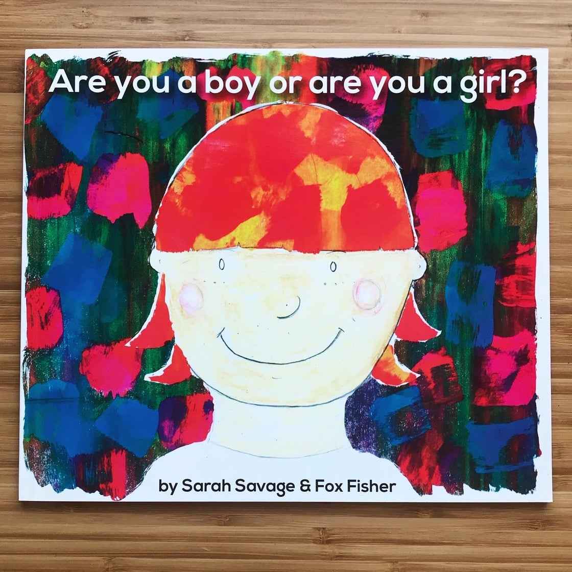 Image of Book: Are You A Boy Or Are You A Girl (X 2)