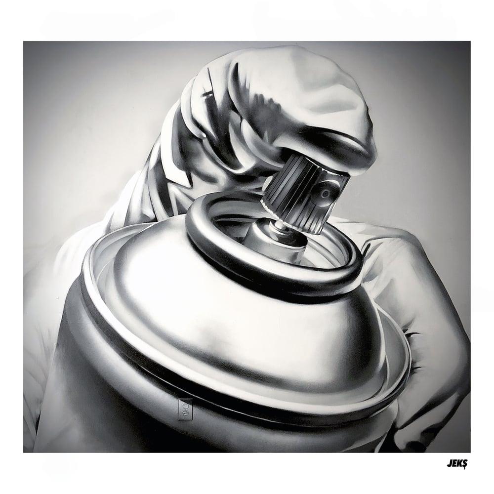 Image of Limited Edition - Chrome Sprayer Print