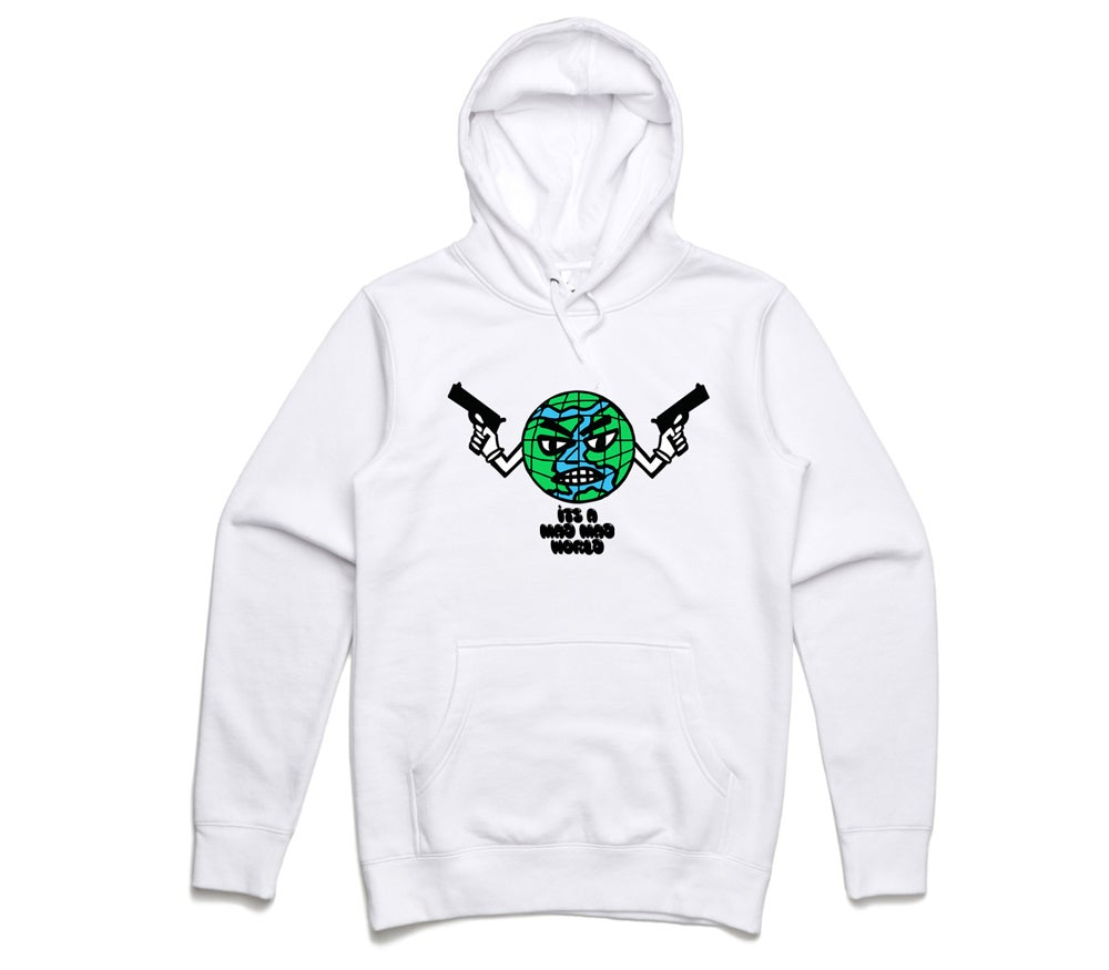 Image of Mad World Hoodie White