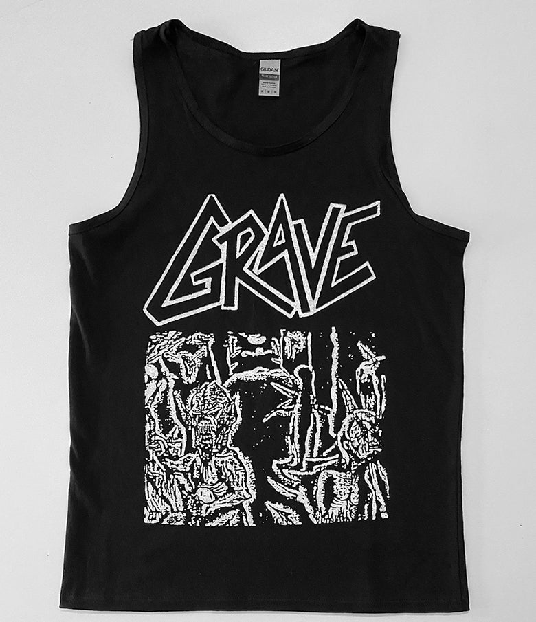Image of Grave - Tank top