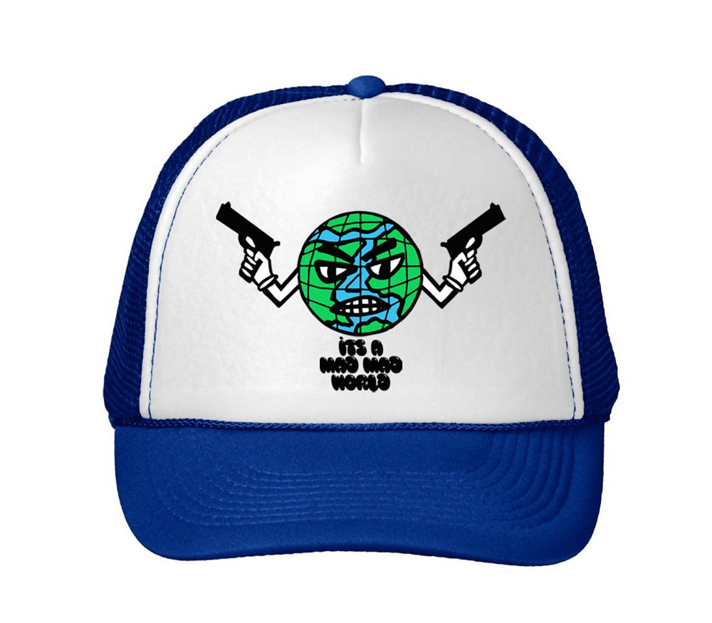 Image of Mad World Trucker Hat royal