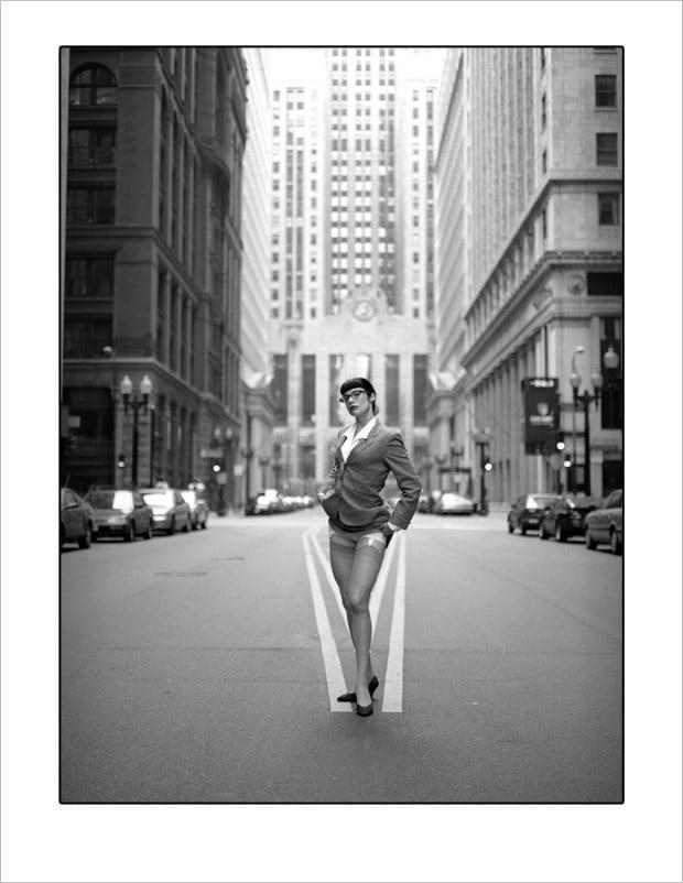 """Image of B-Series Print """"Marne in Chicago"""" by Steve Diet Goedde"""