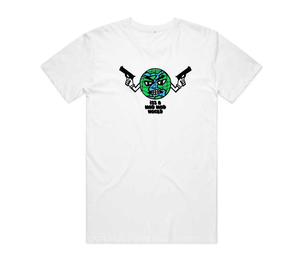 Image of Mad World Tee White