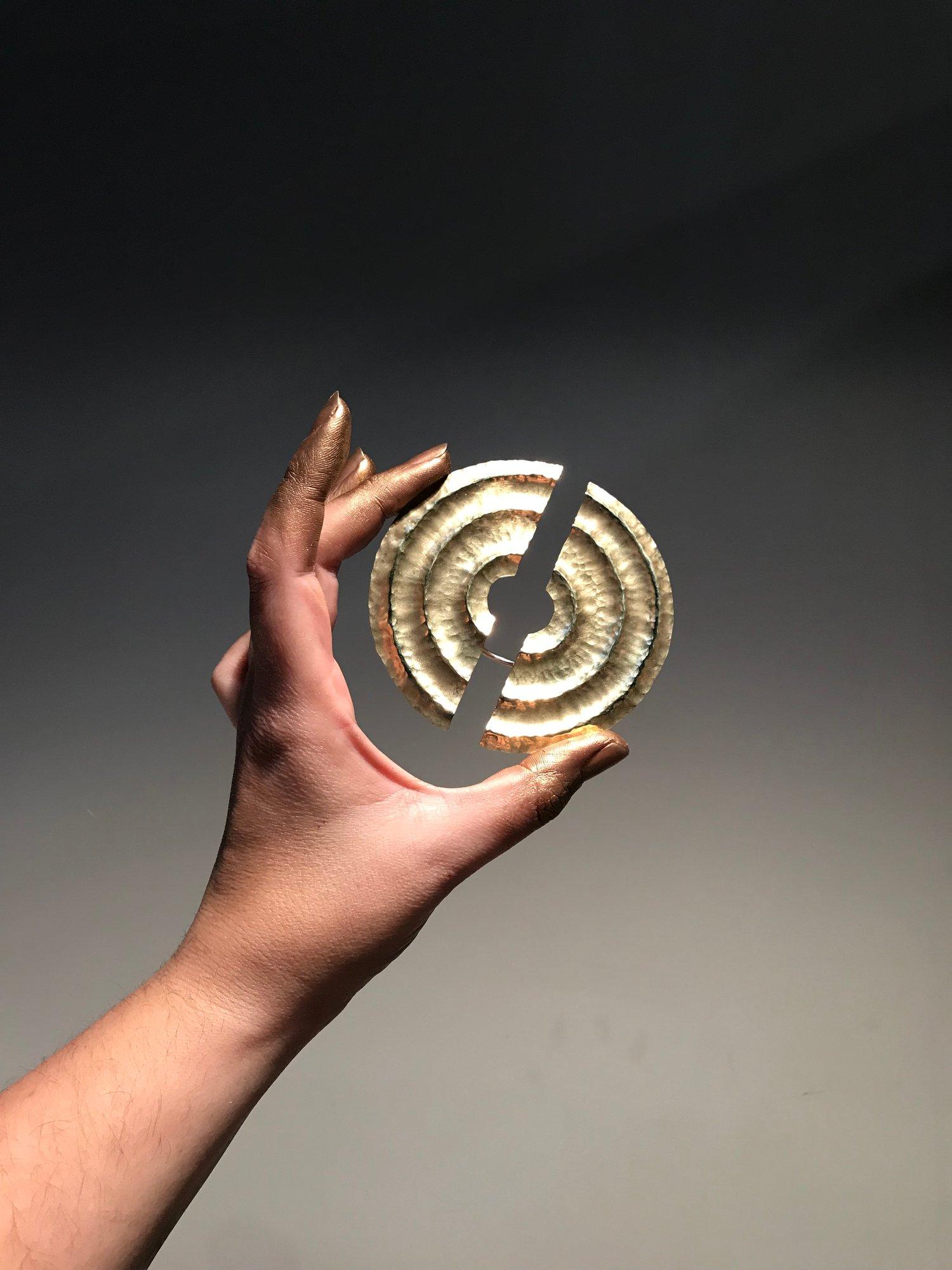 Image of Split Sun ring