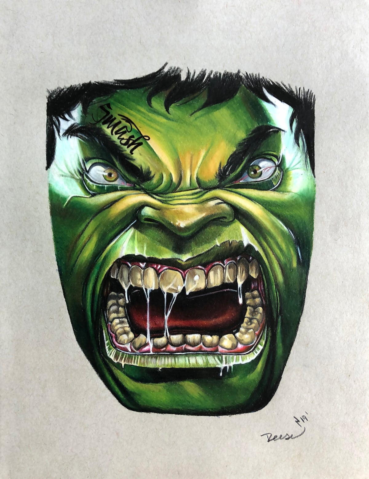 Image of The Hulk Print