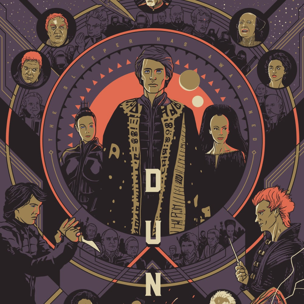 Image of Dune 1984 movie poster