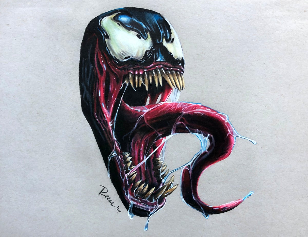 Image of Venom Print