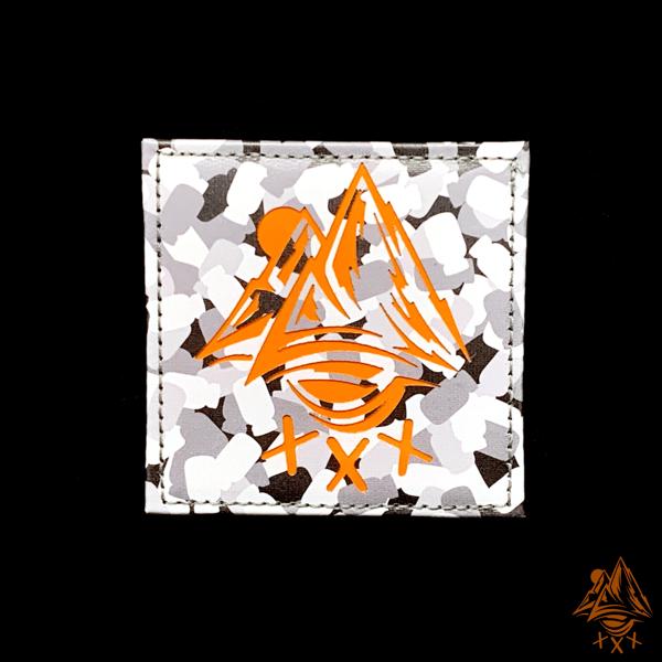 Image of Mountain Logo Laser Cut Patch
