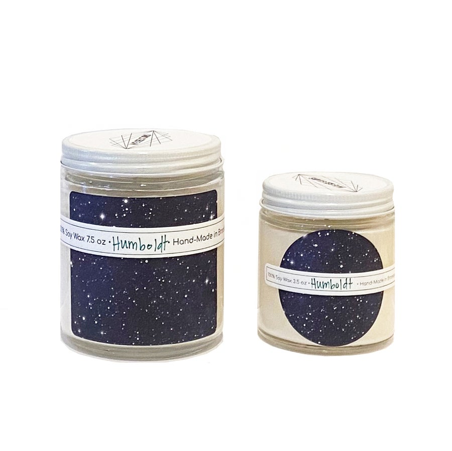 Image of We See Stars Hand Poured Candle: Humboldt