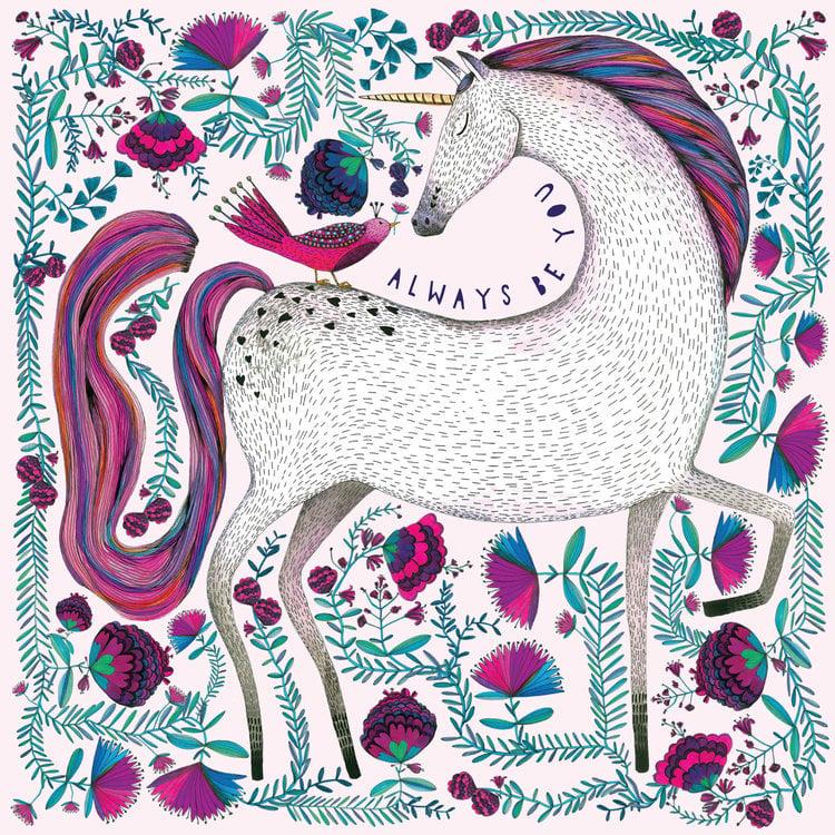 Image of Always Unicorn Card