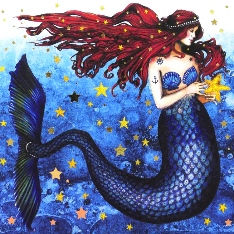 Image of Mermaid Card