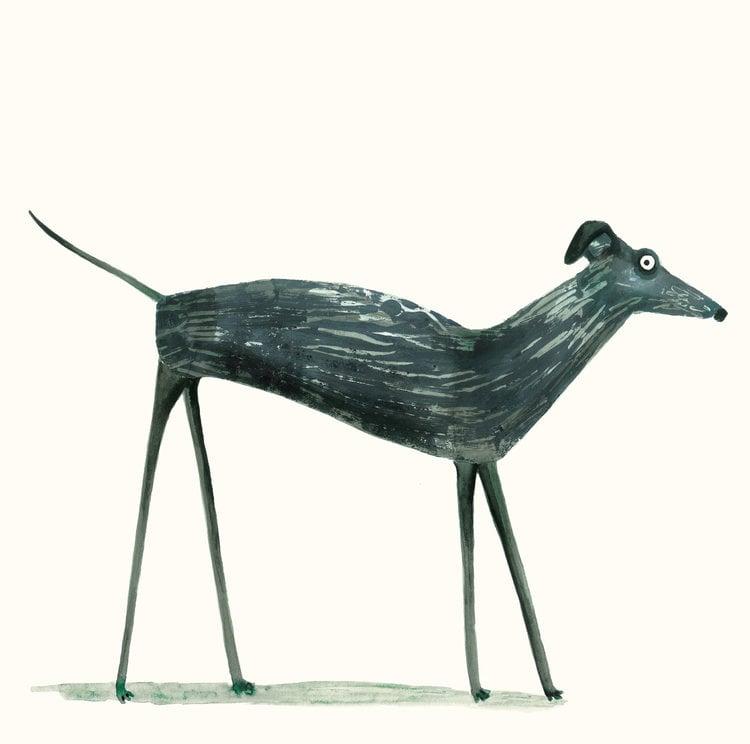 Image of Greyhound Card