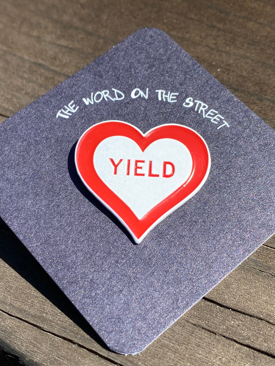 Image of Yield Heart Pin