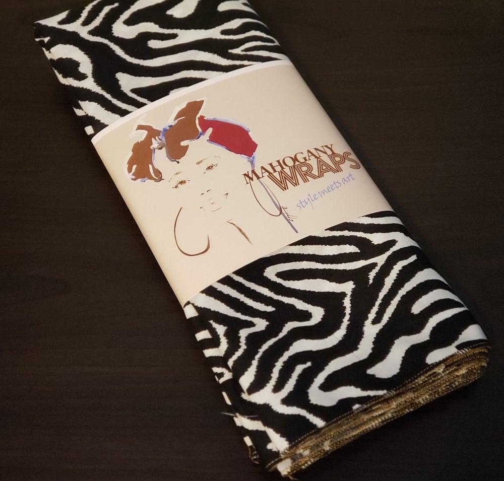 Zebra Mahogany Wrap