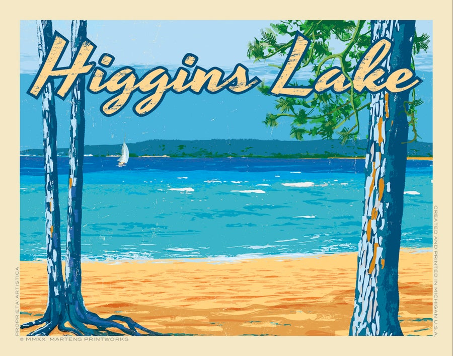 Image of Higgins Lake Special Edition Print No. [095}