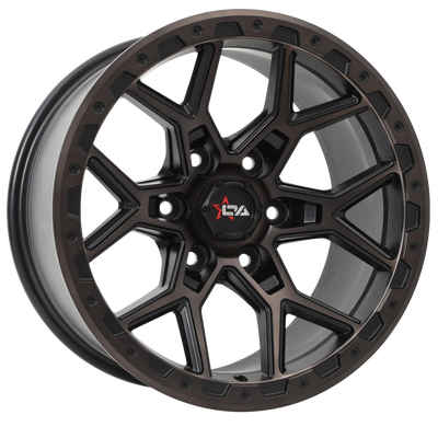 Image of Versus Wheels - PREDATOR - MACHINE FACE & SATIN BLACK CLEAR