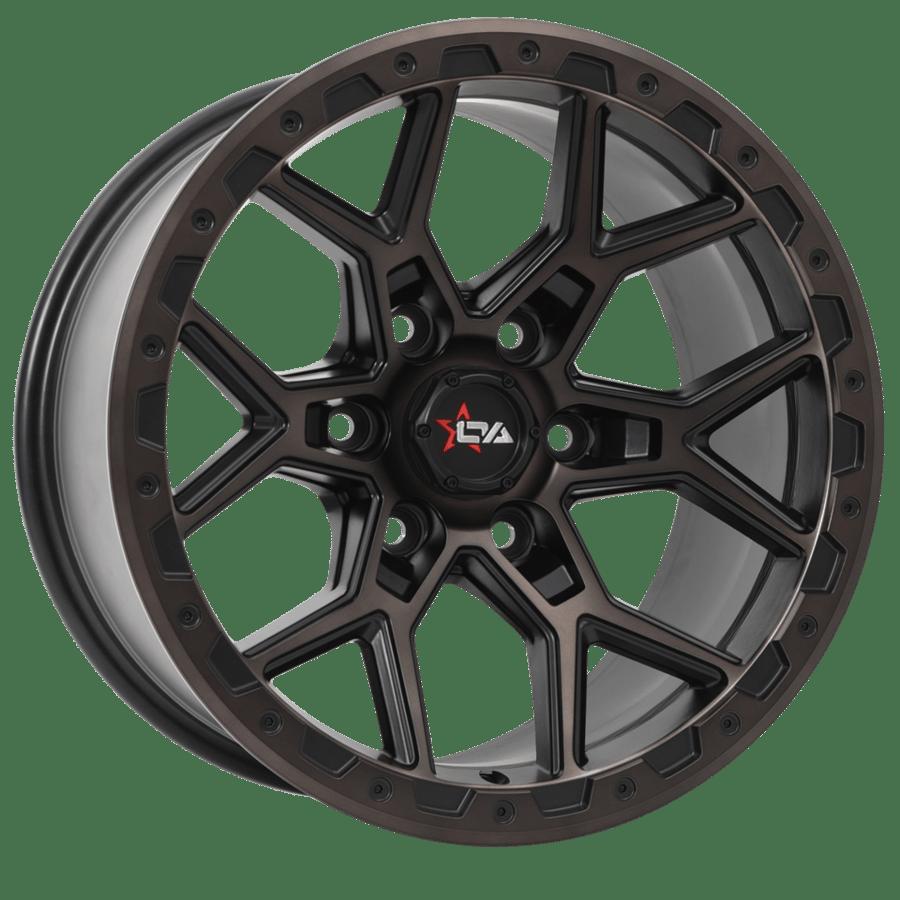 Image of Versus Wheels - PREDATOR - MACHINE FACE & SATIN BLACK CLEAR
