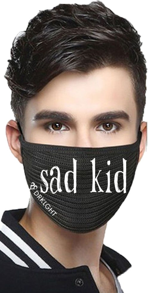 Image of DRKLGHT Sad Kid Mask