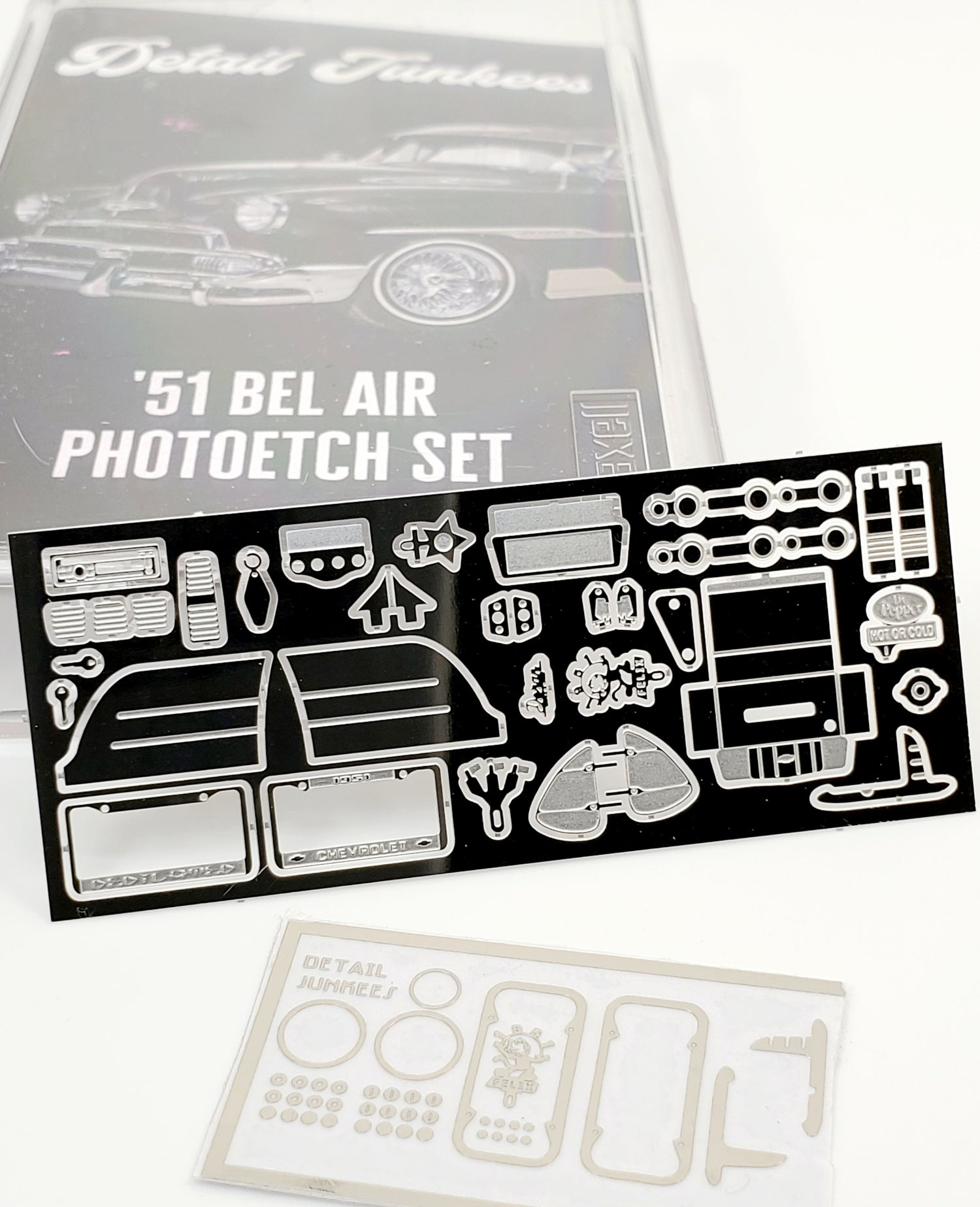 Image of 51 Chevy Bel Air Photoetch Set