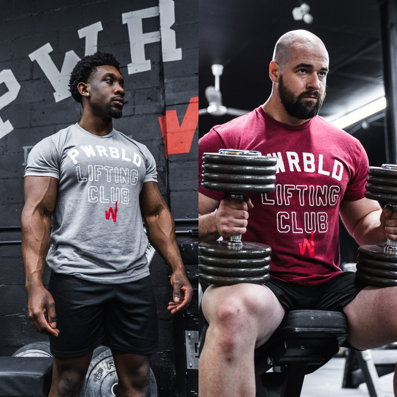 Image of PWRBLD Lifting Club Unisex Tee