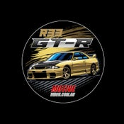Image of R33 GT-R Sticker