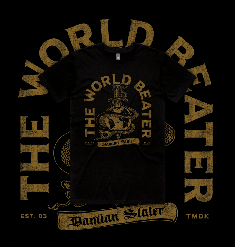 Image of 'World Beater Snake' T-Shirts (Black)