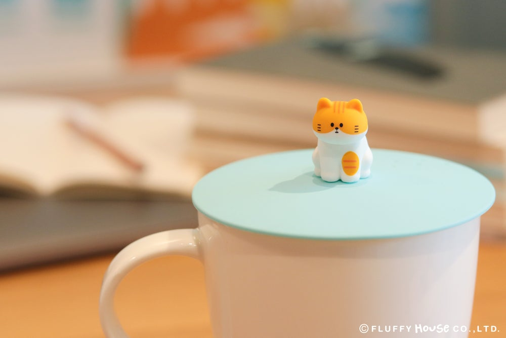 Image of My Home Cat Silicone Cup Cover