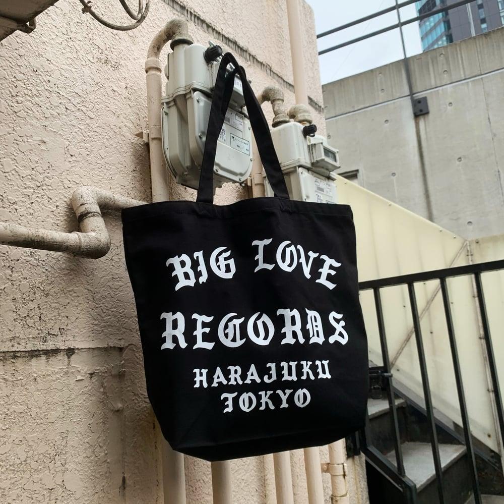 Image of NINETEEN 2020 BIG LOVE RECORDS HARAJUKU TOKYO TOTE