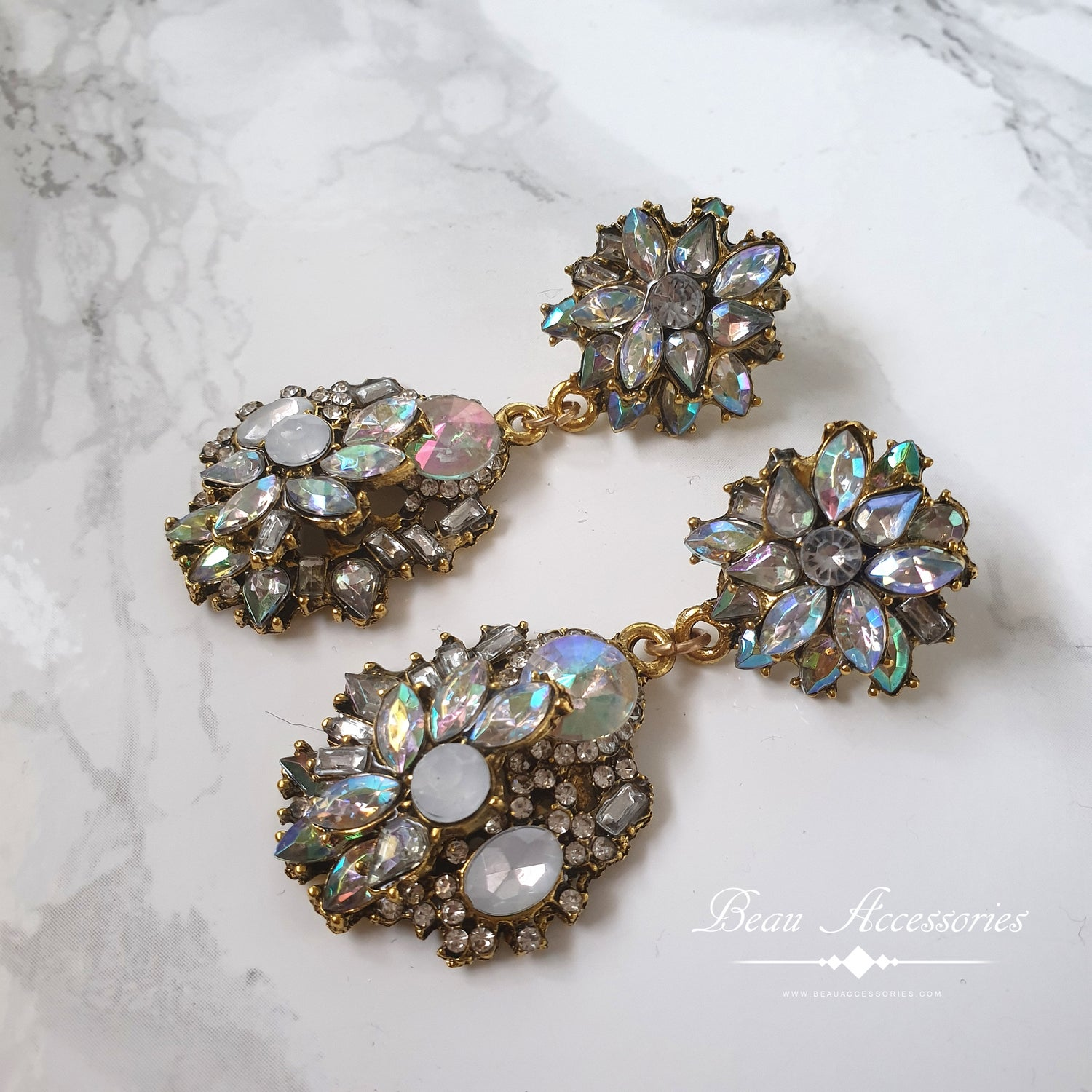Image of Velencia Statement Earrings (All Colours)