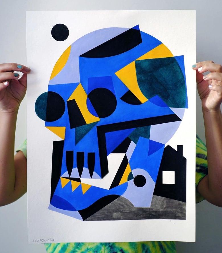 Image of Blue Skull