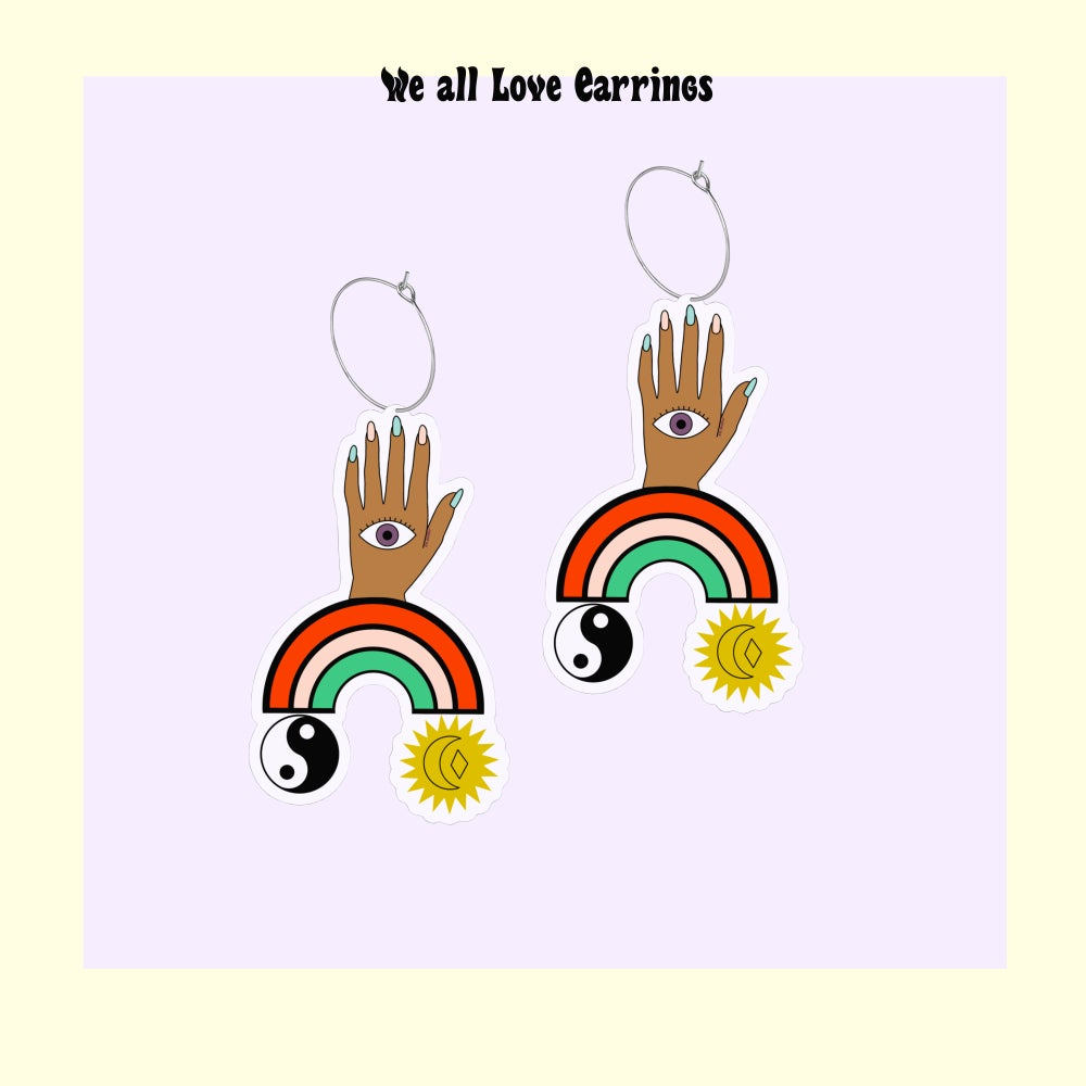 Image of We all Love earrings