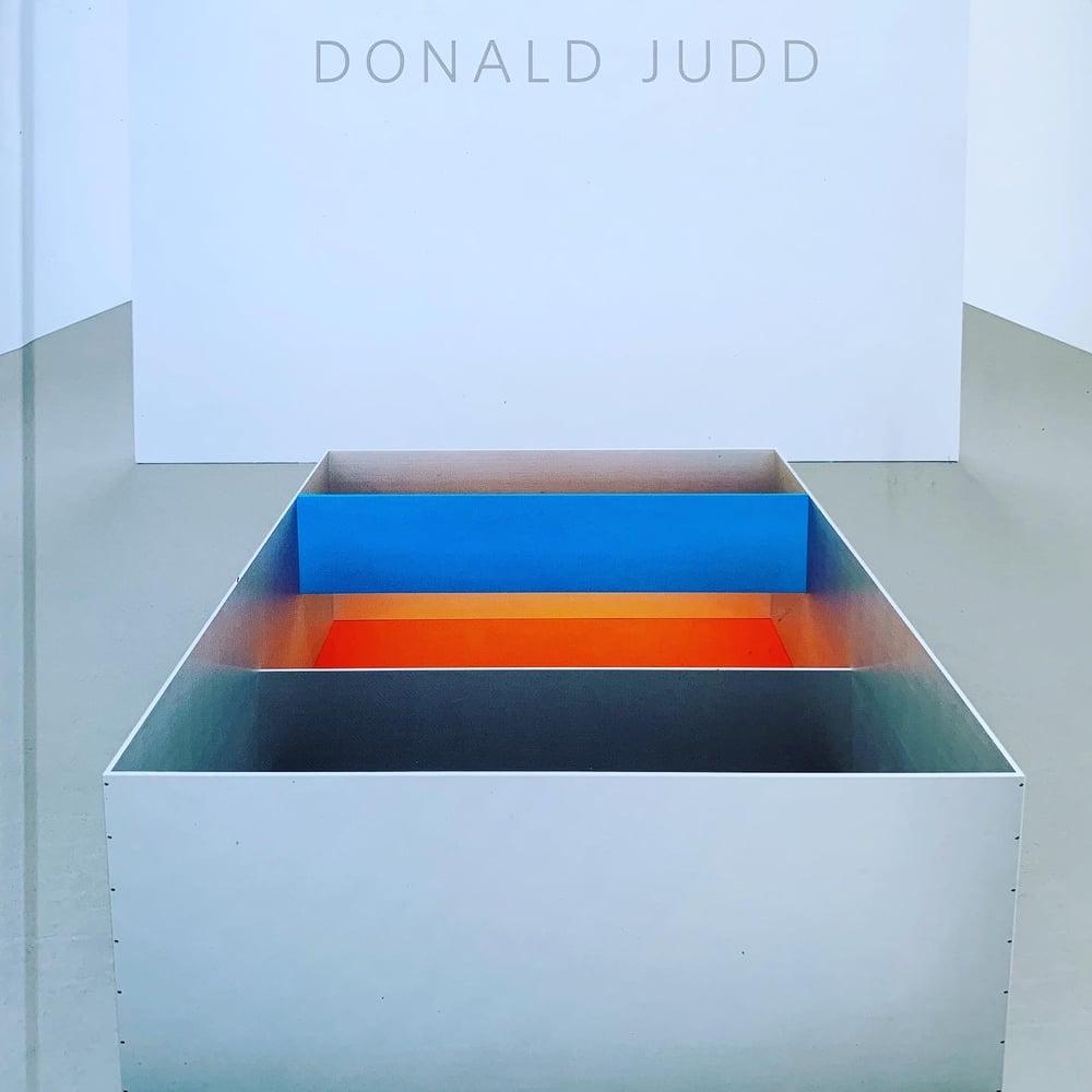 Image of (Donald Judd)(ドナルド・ジャッド)(David Zwirner)