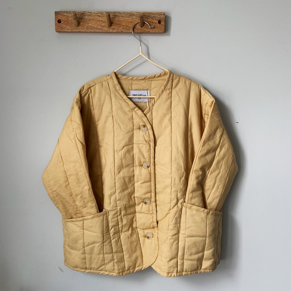 Image of THE RAVEN JACKET - YELLOW