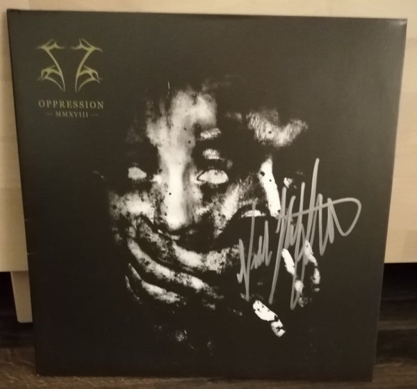 "Image of Shining ""Oppression"" LP (Black Vinyl) Signed Edition"