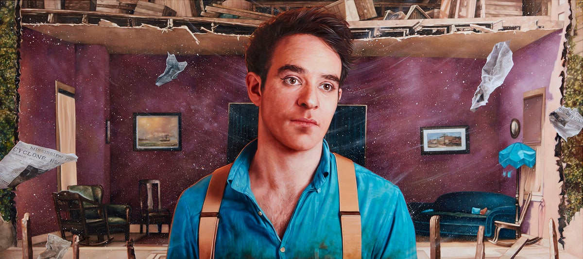 Charlie Cox as William Canfield Jr. from 'Steamboat Bill, Jr.' // LIMITED EDITION PRINT