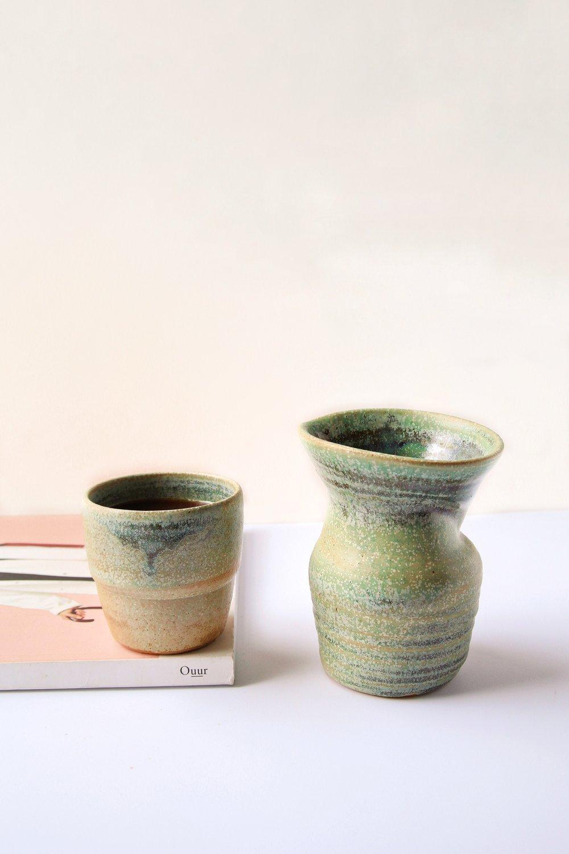 Image of COFFEE/TEA SERVER GREEN
