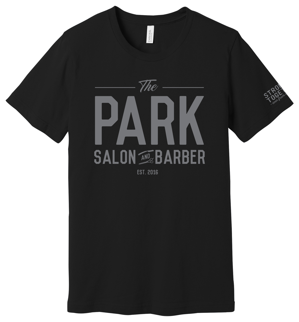 """The Park Salon and Barber """"Stronger Together"""" Tee"""