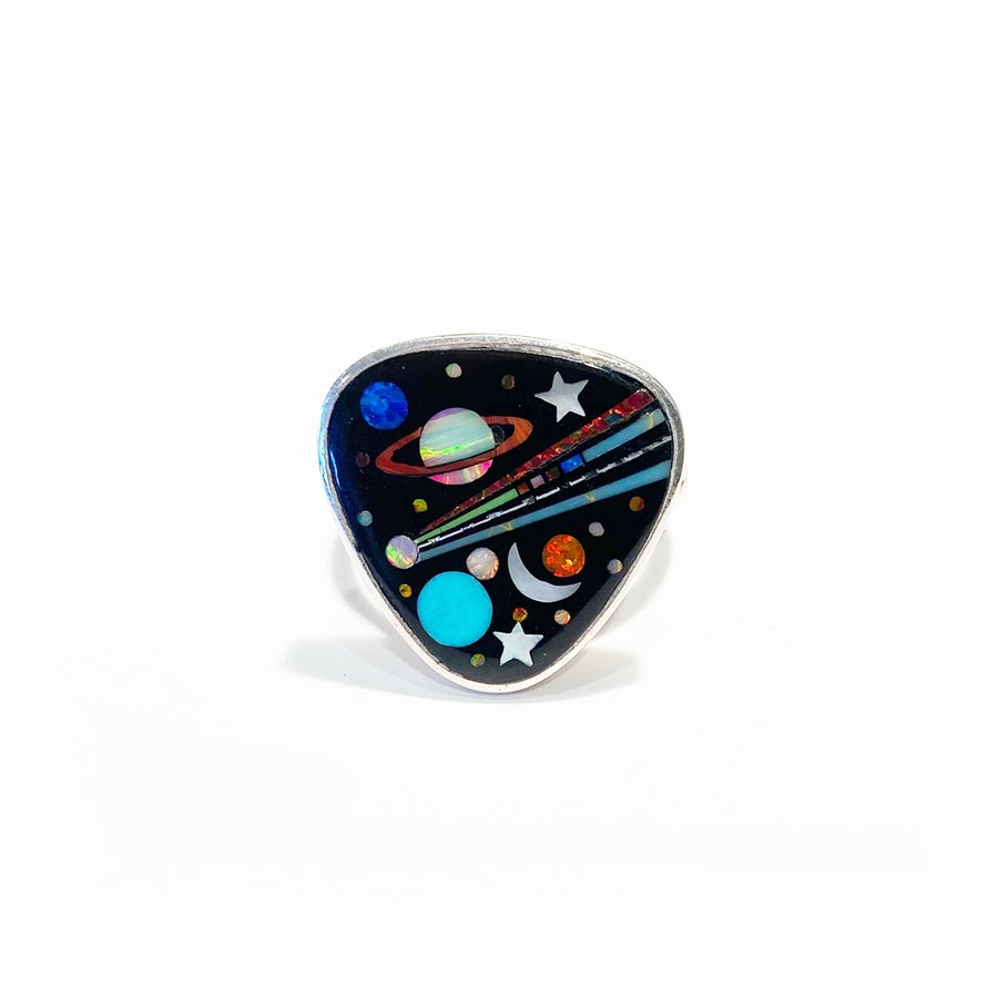 Image of Galaxy Shield Ring