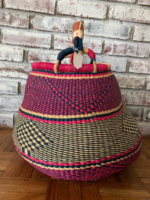 Image of Diamond Pot Belly Basket