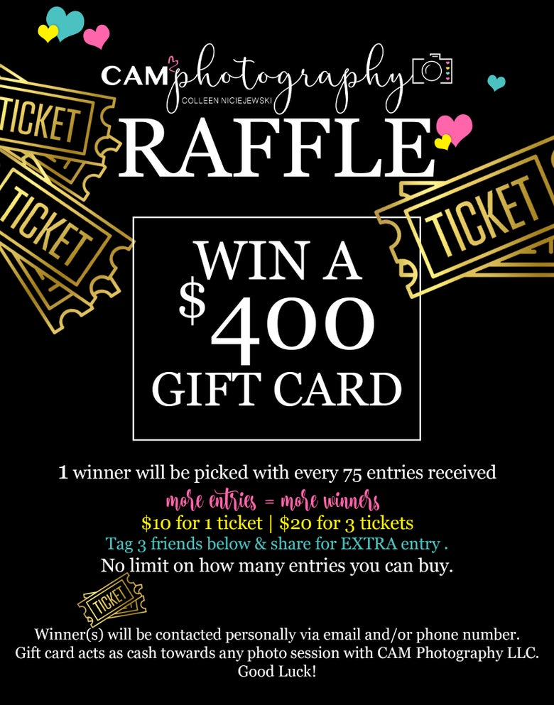 Image of RAFFLE - CLICK ME! ... 1 ticket or 3 tickets