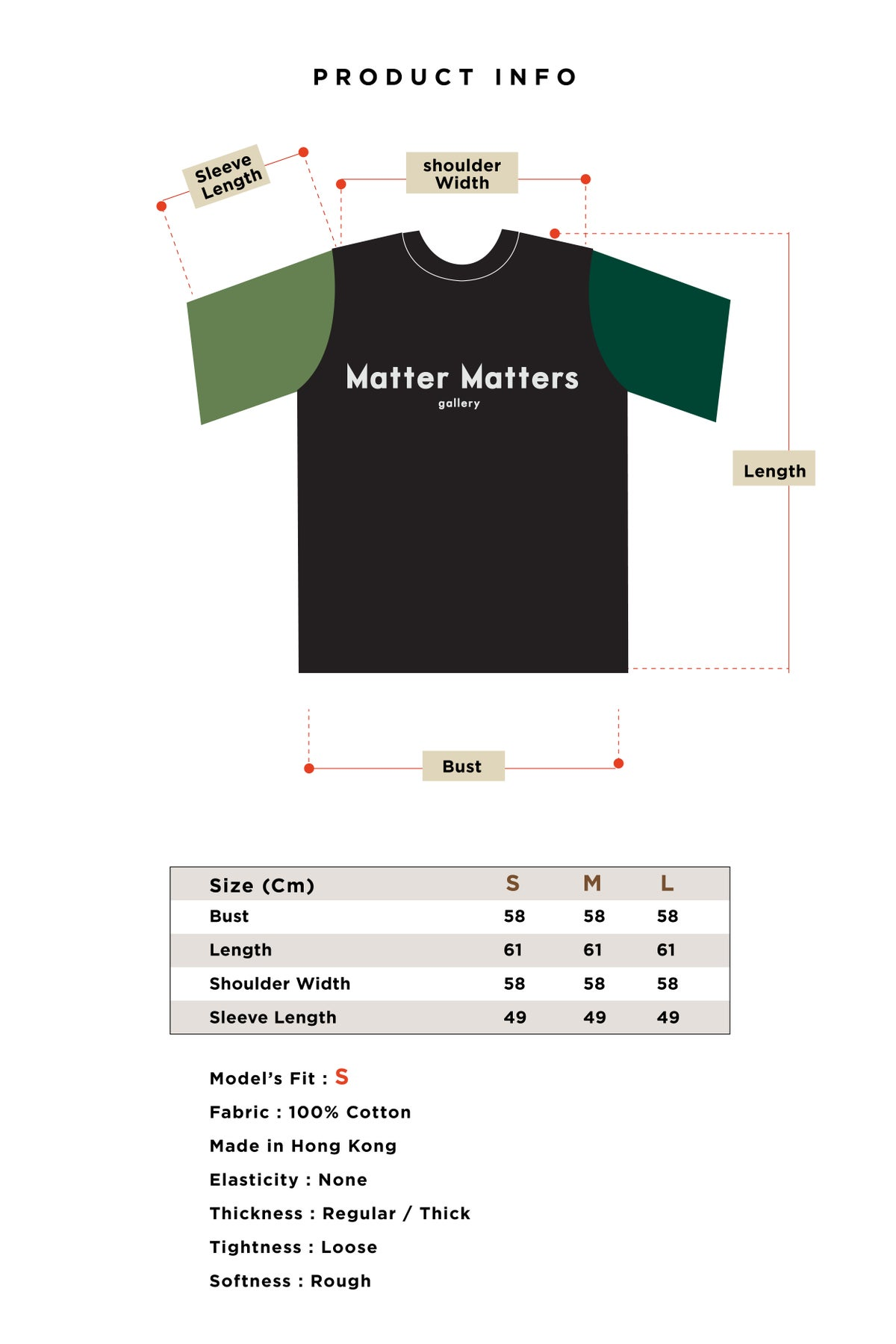 Image of Matter Matters objects T-Shirt - Multi Colors