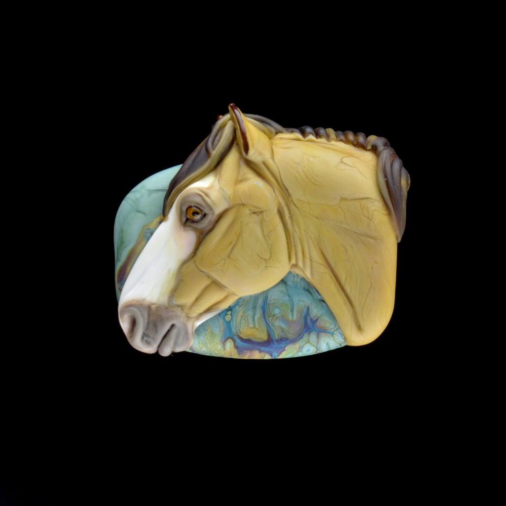 Image of XXL. Pecos - Flamework Glass Sculpture Bead