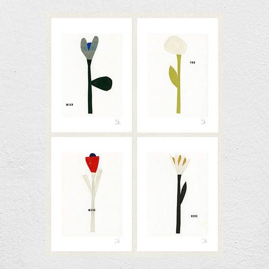 Image of Wish Set of four prints